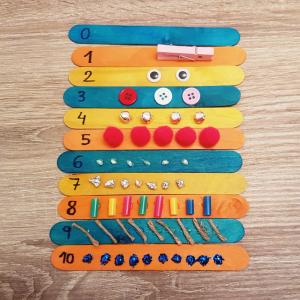 numeración sensorial